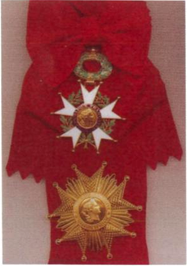 Fascia e placca di Gran Croce della Legione d'Onore Francese