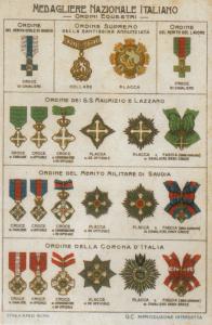 Onorificenze italiane nel periodo monarchico