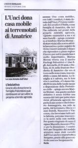 Eco di Bergamo, venerdì 21/10/16