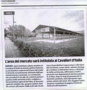 L'Eco di Bergamo - giovedì 2 febbraio 2017
